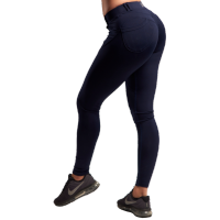 XXL Fitness Legging Tight - Dark Blue, (Vain XS-koko)