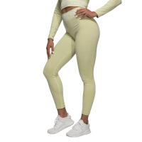 BB Rib Seamless Leggings - Mellow Green Melange