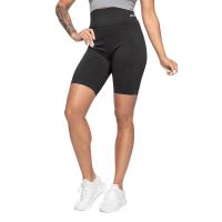 BB Rib Seamless Shorts - Black Melange