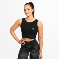BB Astoria Laced Tank - Black
