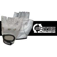Scitec Weightlifting Gloves - White Style