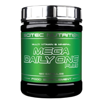 SCITEC Mega Daily One Plus, 60 kaps.