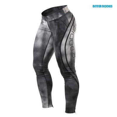 BB Grunge Tights - Steel Grey, (Vain S-koko)