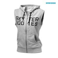 BB Athletic s/l hood - Gery Melange, (Vain M-koko)