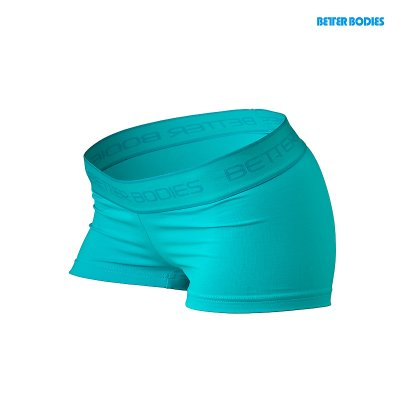BB Fitness Hotpants - Aqua Blue, (Vain L-koko)