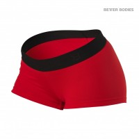 BB Fitness Hotpants - Scarlet Red, (S-koko loppu)