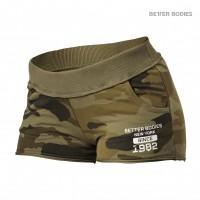BB Rough Sweatshorts - Dark Green Camo