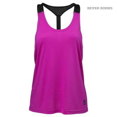 BB Loose Fit Tank - Strong Pink, (Vain L-koko)
