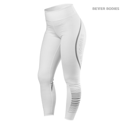 BB Madison Tights - White