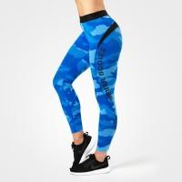BB Fitness Curve Tights - Blue Camo, (Vain S-koko)
