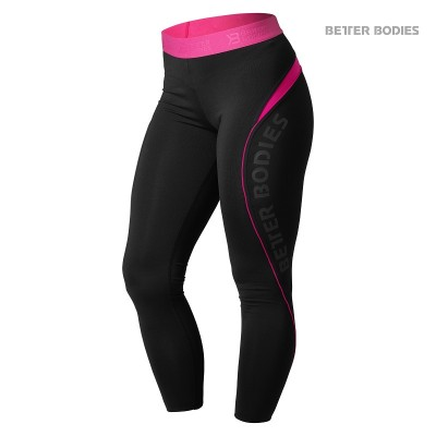 BB Fitness Curve Tights - Black/Pink, (Vain XS-koko)