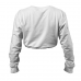 BB Madison Cropped Long Sleeve - White, (Vain M- ja L-koko)