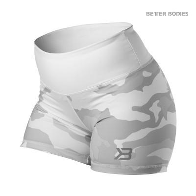 BB Chelsea - Hotpants - White Camo, (Vain S ja L-koko)