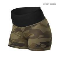 BB Chelsea - Hotpants - Dark Green Camo, (Vain S-koko)