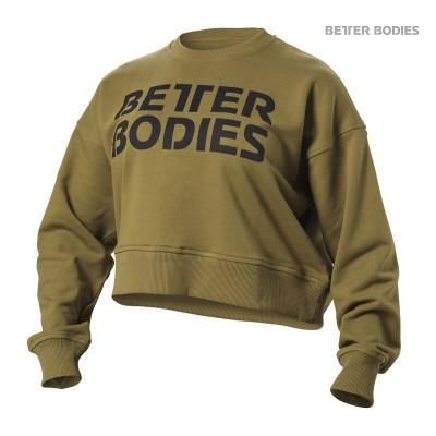 BB Chelsea Sweater - Military Green, (XS-koko loppu)
