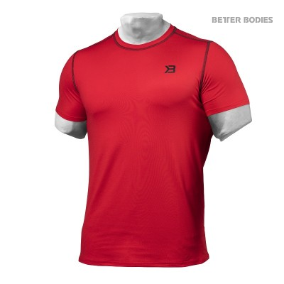 BB Performance Tee - Bright Red, (Vain S- ja M-koko)