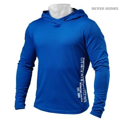 BB Mens soft hoodie - Strong Blue, (Vain S-koko)
