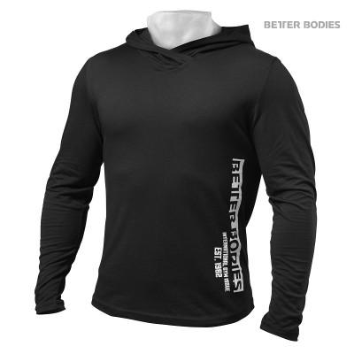 BB Mens soft hoodie - Black, (Vain XXL-koko)