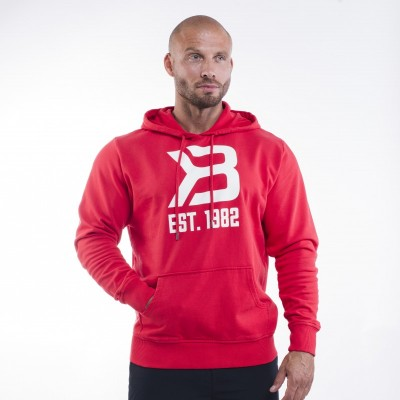 BB Gym hoodie - Bright Red, (Vain L-koko)