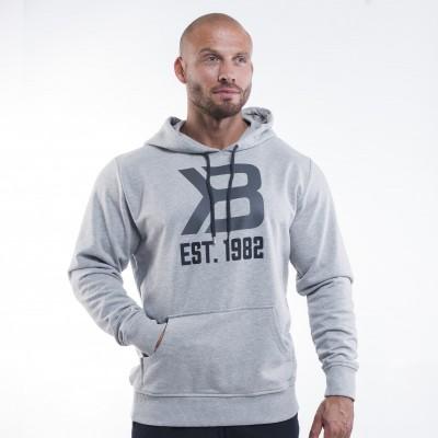 BB Gym hoodie - Greymelange, (L-koko loppu)