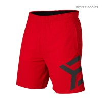 BB Hamilton Shorts - Bright Red