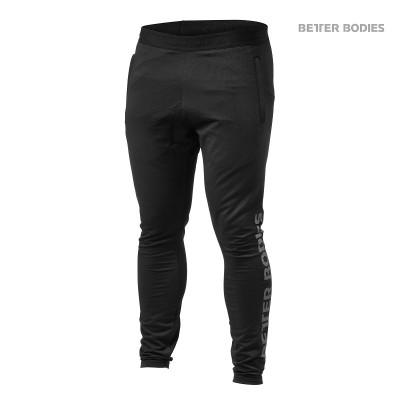 BB Hudson Jersey Pants - Black, (Vain XXL-koko)
