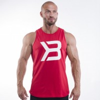 BB Brooklyn Tank - Bright Red