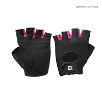BB Womens Train Gloves - Black/Pink