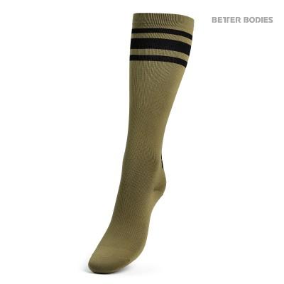 BB Knee Socks - Military Green