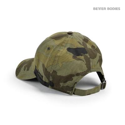 BB Baseball Cap - Green Camoprint