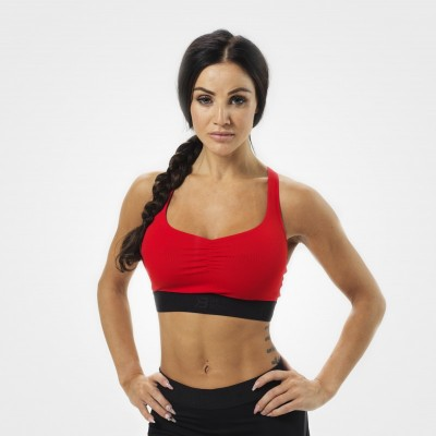 BB Athlete Short Top - Scarlet Red, (Vain S-koko)
