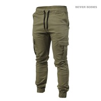 BB Alpha Street Pant - Wash Green