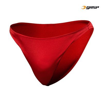 GASP European Pose trunks - Ruby Red