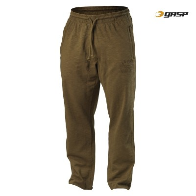 GASP Throwback Straight Pant - Military Olive, (Vain L-koko)