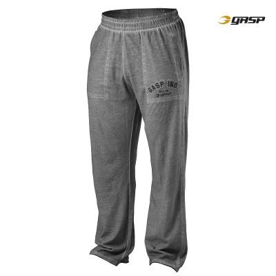 GASP Heritage Pants - Grey Melange, (Vain M-koko)