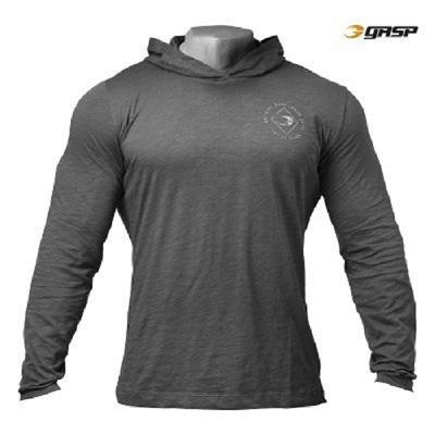 GASP Legacy Light Hood - Grey, (Vain L-, XL- ja XXL-koko)