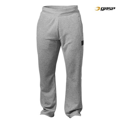 GASP Legacy Gym Pant - Grey Melange, (Vain M-, L- ja XL-koko)
