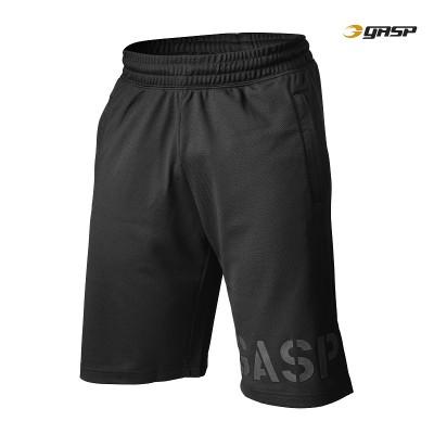 GASP Essential Mesh Shorts - Black, (Vain S-, M- ja L-koko)