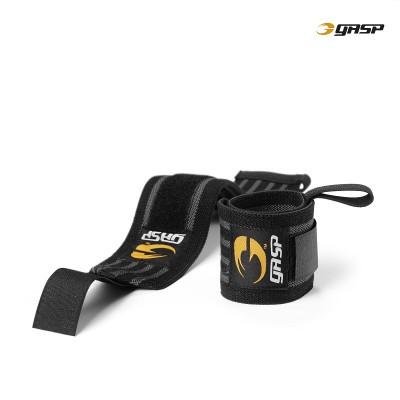 GASP Hardcore Wrist Wrap - Black/Grey