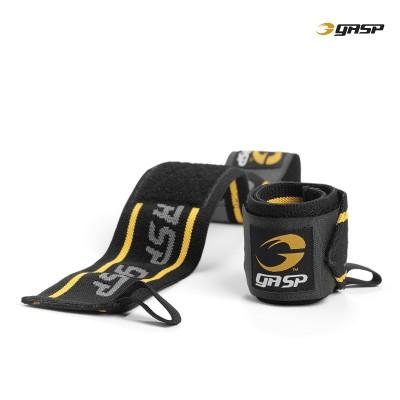 GASP wrist wraps - Black/Yellow