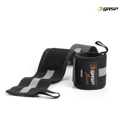 GASP 1RM wrist wraps - Black/Grey