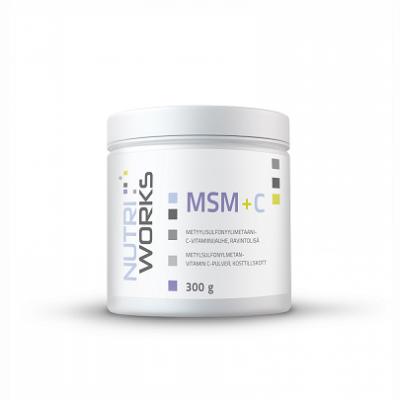Nutri Works MSM + C, 300g