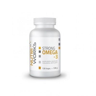 Nutri Works Strong Omega-3, 120 kaps.