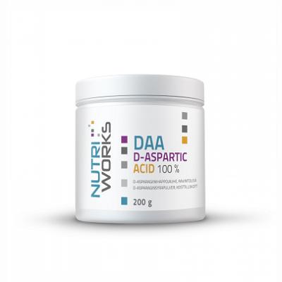 Nutri Works DAA D-Aspartic Acid 100%, 200g