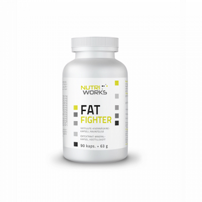 Nutri Works Fat Fighter, 90 kaps.