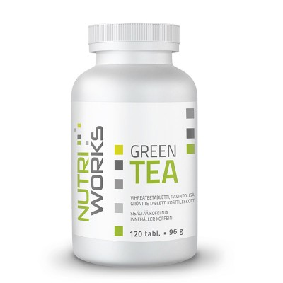 Nutri Works Green Tea, 120 tabl.