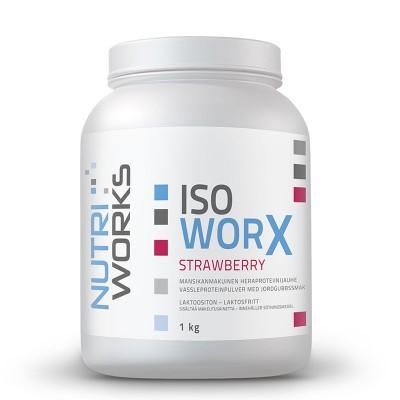 Nutri Works Iso Worx - mansikka, 1000g