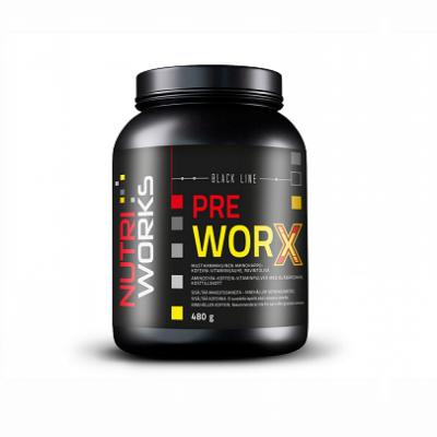 Nutri Works Pre worX - Mustikka 480g