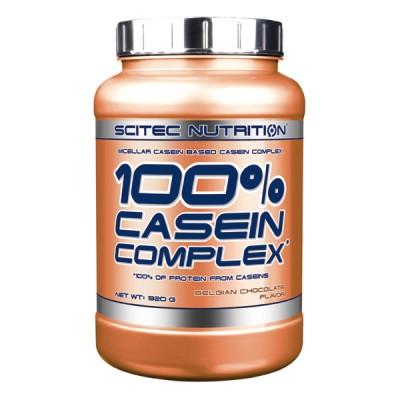 SCITEC 100% Casein Complex, Belgian suklaa, 920g