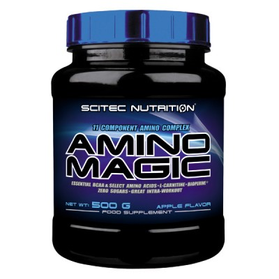 SCITEC Amino Magic, Orange, 500g